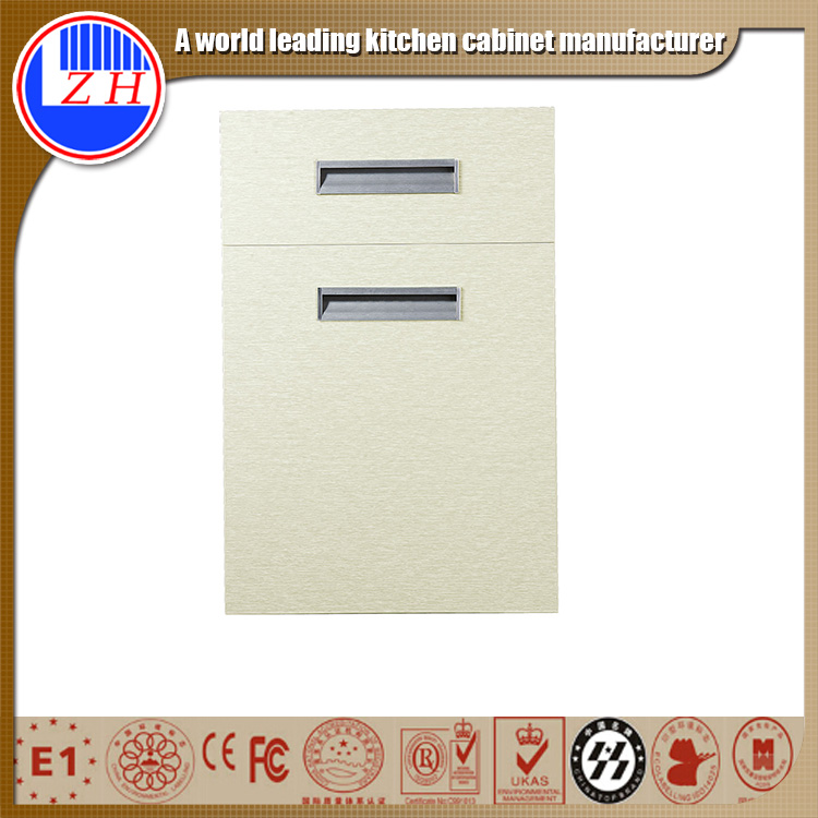 factory anti scratch kitchen cabinet plastic door decoration panel