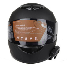Unique Full Face Motorcycle Helmet Built in Bluetooth