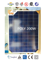 Quality-assured hot selling factory price 200 watt solar panels solar modules