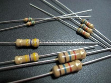 Tolerance 5% 1/4 watt resistor 200ohm carbon film resistor