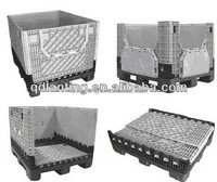 Collapsible Heavy Duty Plastic Pallet Container for Storage