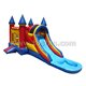 Fun CE inflatable bouncy castle with water slide jumping castle A3041
