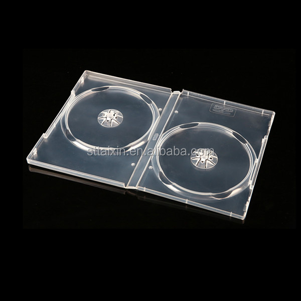 plastic 14mm clear ps4 dvd case from shantou plastic factory