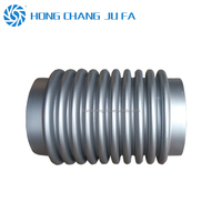 DN500mm welded connect stainless steel tube exhaust expansion metal bellows