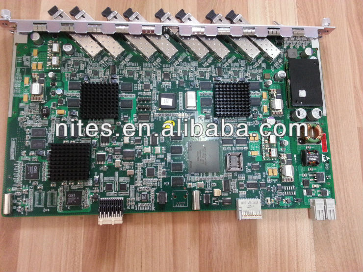 ZTE 8 ports GPON board for C300 GPON OLT. GTGO board with 8 modules