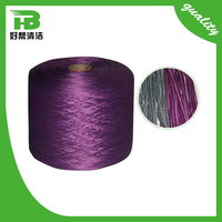 Cotton Ployester Outdoor Yarn Purple and Grey Yarn for Mop