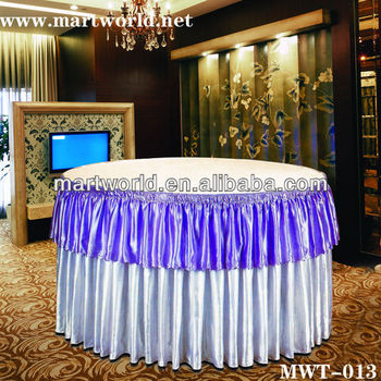 2017 new design lace chair covers wedding ruffled wedding