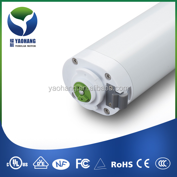YT52E home automation electric curtain motor,built in receiver,light touch start function