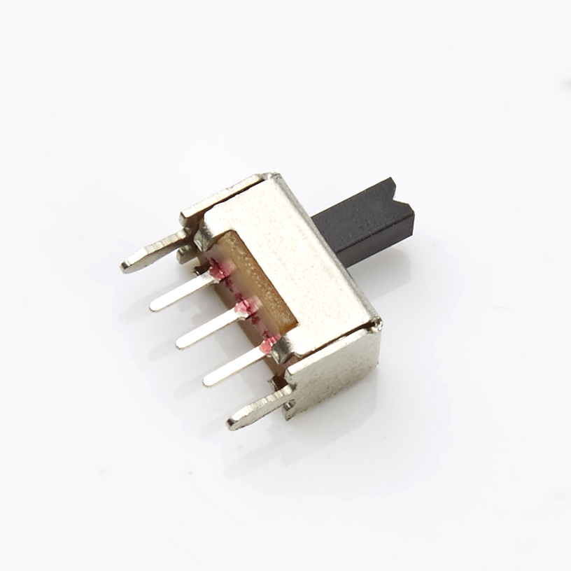 Slide switch manufacturers direct SS12D02 electronic products with straight shank toggle switch environmental protection
