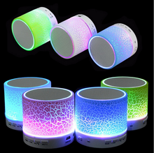 New A9 Smart Bluetooth Handsfree Speakers Wireless Portable Bluetooth Speaker Player Mini LED Sports Speaker For PC Phone Xiami