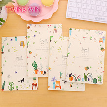 Alibaba 2018 Hot selling cute stationery korean Eco-friendly Cheap Plain Paper notebooks writing pads