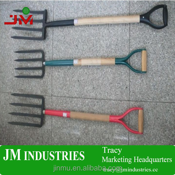 best selling product wooden handle steel garden rake for farm tools made in Chinese factory