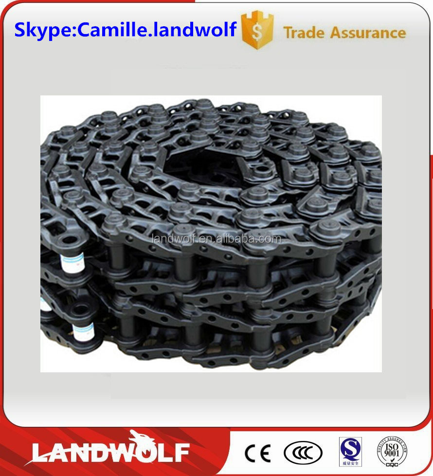 Construction Machinery PC400 Undercarriage Spare Parts Track Chain Crawler Track Chain and Track Link for Construction Machine