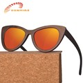 Most popular High Quality CE FDA Free Logo Ready Goods Custom Bamboo Glasses with Polarized Lenses