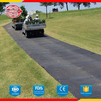 Factory directly sale plastic road cover mat with large stock and quick delivery