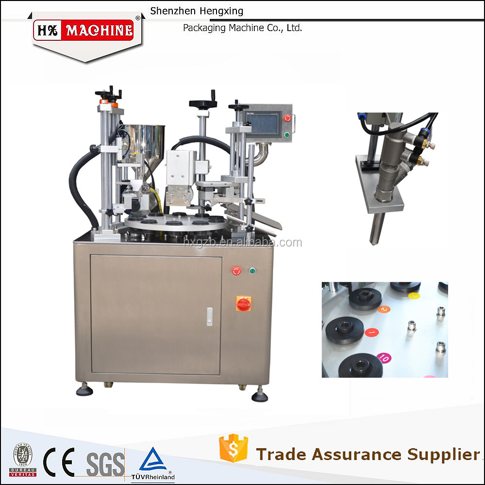 Automatic Laminated Plastic Aluminum Tube Filling Sealing Machine