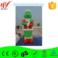 Giant inflatable green monster balloon for advertising or decoration Y3102