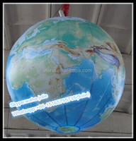 3m hanging decoration inflatable earth with led light W9905