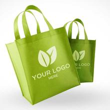 Promotion Factory Custom Logo Reusable Foldable Laminated Grocery PP Non Woven Fabric Tote Shopping Bag