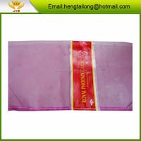 fresh garlic, onion pe mesh bag for packaging vegetable and fruit