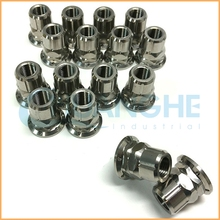 China supplier manufacture titanium nut bolt manufacturing process