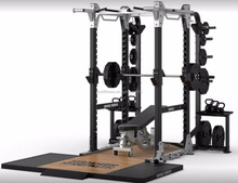 Hammer strength HD elite power Rack Commercial gym fitness equipment