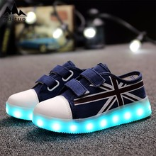 Super Quality Durable Using Various Led Light Sport Shoes One Pair