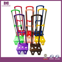 Colorful Rolling Lightweight Luggage Trolley For Kids For Sale