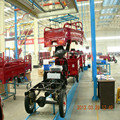 Cheap tricycle production line with rear trunk