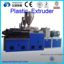 pvc deco profile extrusion line