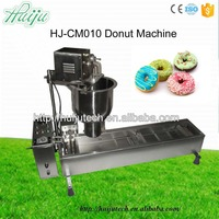 450pcs/h Stainless steel used automatic donut machine 220V/50hz donut making machine for sale without counter HJ-CM010