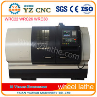China Supplier Alloy wheel repair new CNC Lathe low prices