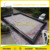 Outdoor portable 0.6mm pvc tarpaulin large inflatable soap football field,human table football field for kids