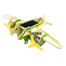 2017 wholesale diy assemble children wooden toy airplanes new design kids wooden toy airplanes best wooden toy airplanes W03B070