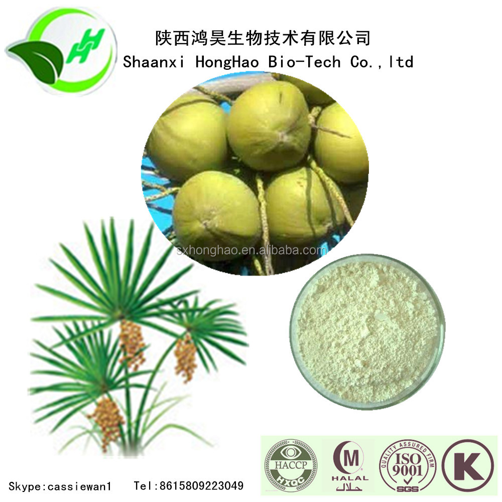 ISO & Kosher Certificated Supply Herb Medicine For Balance Men And Women Hormones from Organic Serenoa Serrulata powder
