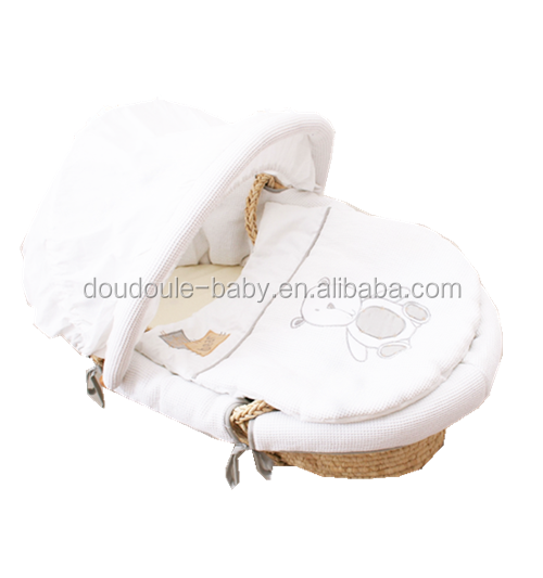 Sleeping baby moses basket covers