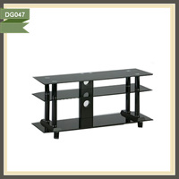 jamaica furniture flip down ceiling tv lift tempered glass tv table