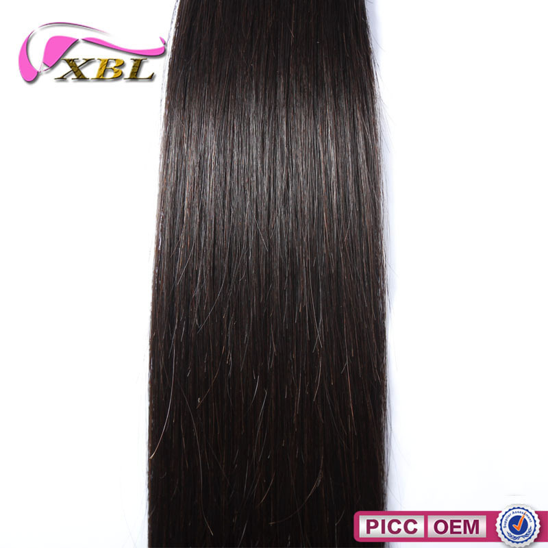 Machine Made Weft No Tangle And No Shed Brazilian Remy Hair