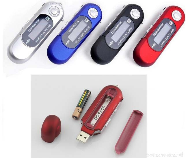 bulk wholesale mp3 player high quality usb mp3 player with aaa battery