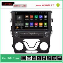 9'' big screen android 7.1 car dvd gps for ford mondeo 2013 with audio video radio multimedia entertainment system LPYFRG