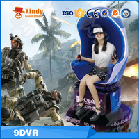 Hot sale VR Interactive shooting 5D 9D 12D Cinema virtual reality goggles Games Cinema VR Egg