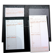Menu clip card guest check presenter menu holder for hotel and restaurant