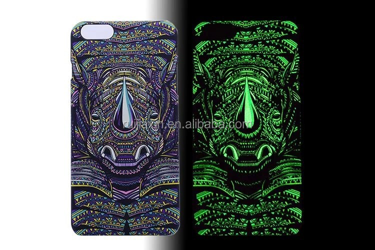 Unique Animal Custom Printing PC Hard Cover for iPhone 6 LUXO Case, Fox/Lion/Dog/Owl/Wolf Phone Case