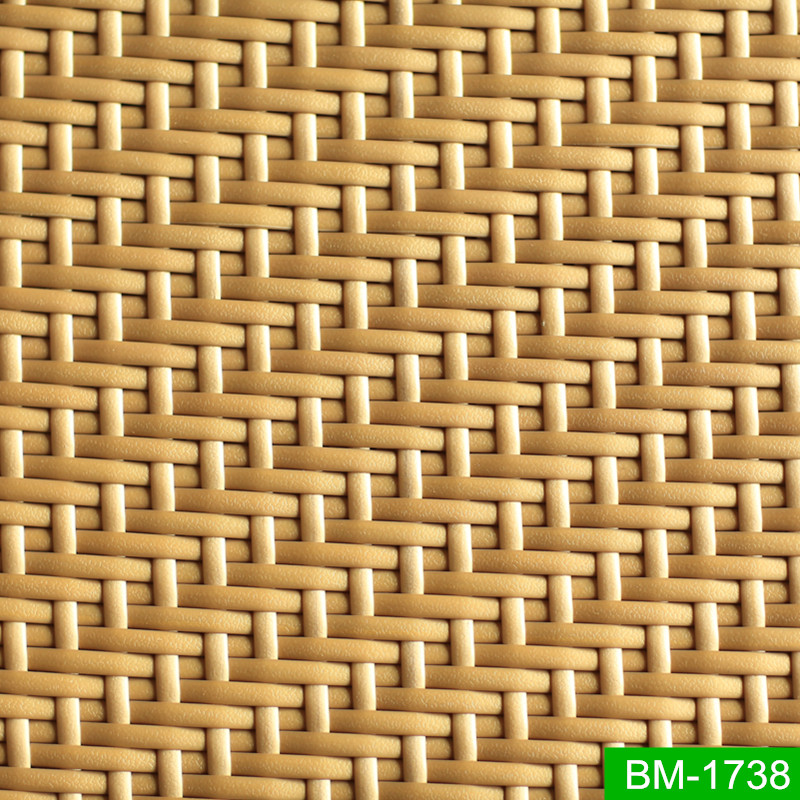 All Weather High Quality Natural Texture PE Rattan Material for Garden Set