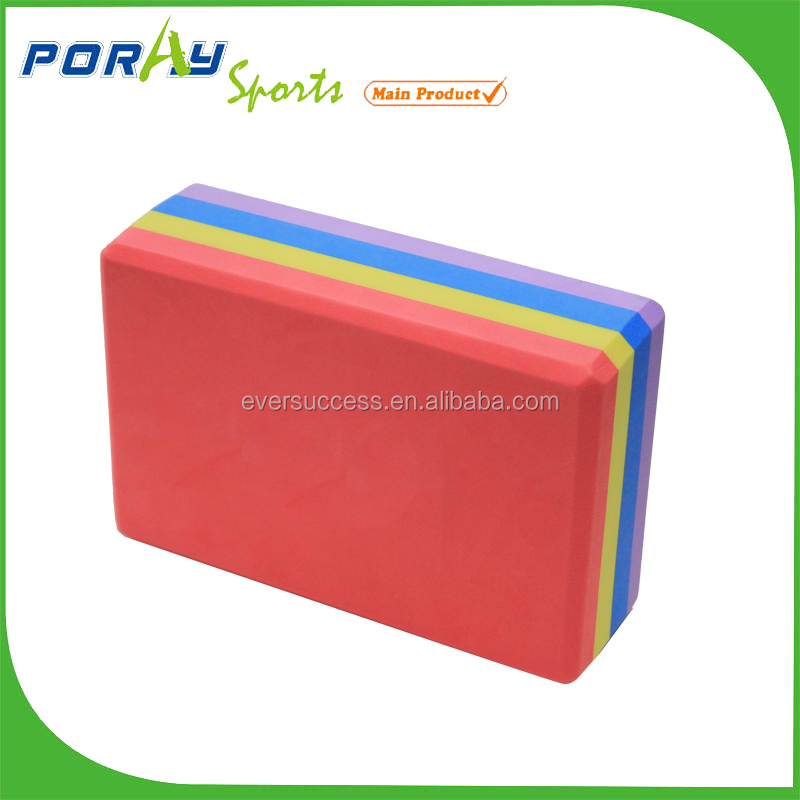 Eco friendly eva foam yoga blocks brick with custom logo
