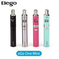 Alibaba Express!China Wholesale Joyetech eGo One Mini Starter 850mAh 1.8ml 0.5&1.0ohm Cloud Vapor Black&Silver&Red&Blue Bell Cap