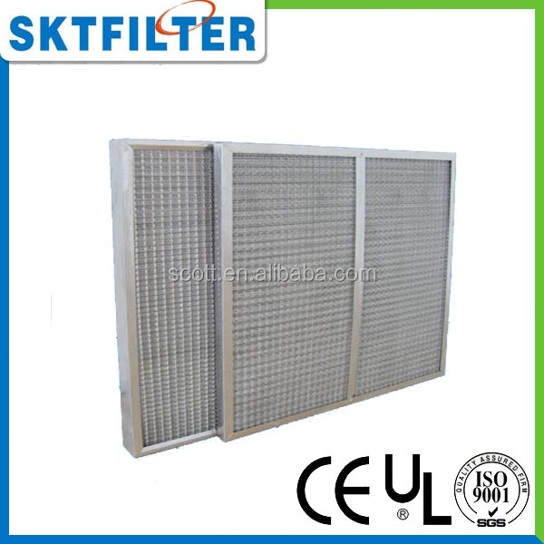high airflow Aluminum wire filter mesh