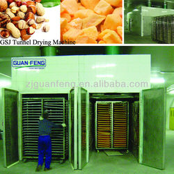 food and vegetable dehydrator / tunnel drying machine