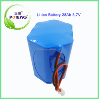 1s10p 18650 cell 28Ah 3.7v lithium ion battery pack
