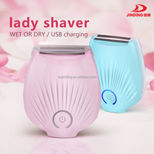 New! Waterproof lady shaver / electric hair removal/USB charging
